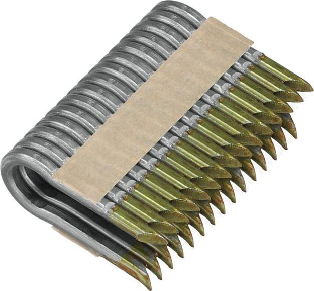 Image sur Agrafes crantées électro-zinguées de 45mm pour Agrafeuse-cloueur pour clôture
